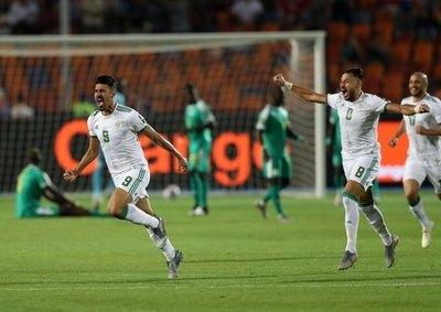 Argelia es el campeón africano
