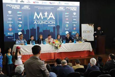 Maratón Internacional de Asunción, en carrera