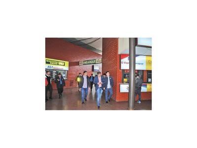 Municipalidad toma  administración de la terminal de ómnibus de CDE