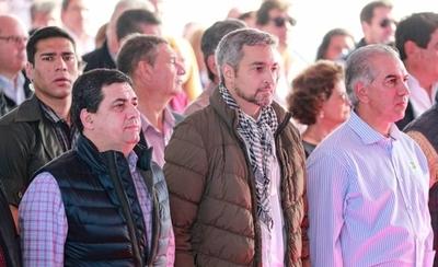 """HOY / Confesión de Abdo en un acto:  """"Me emociona cuando Jair  Bolsonaro me llama Marito"""""""