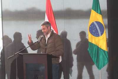 Puente y Corredor Bioceánico representan a la nueva etapa de integración en la región, destacó Mario Abdo