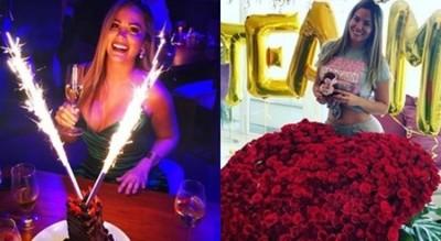 Con Regalos Y Una Fiesta En México, Alexandra Fretes Celebró Su Cumpleaños