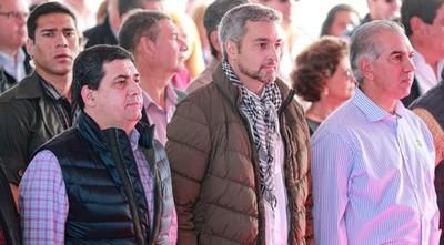 """Confesión de Abdo en un acto: """"Me emociona cuando Jair Bolsonaro me llama Marito"""""""