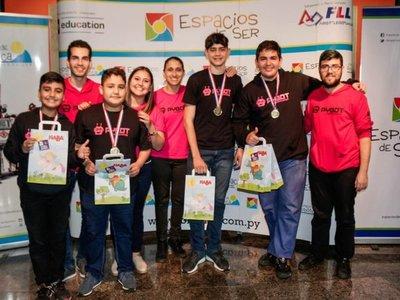 Alumnos de Itapúa logran primeros puestos en torneo nacional de robótica