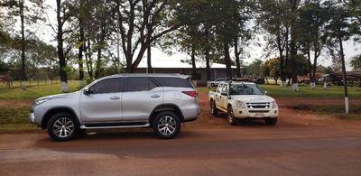 Imputan al chofer de camioneta robada con chapa legislativa paraguaya