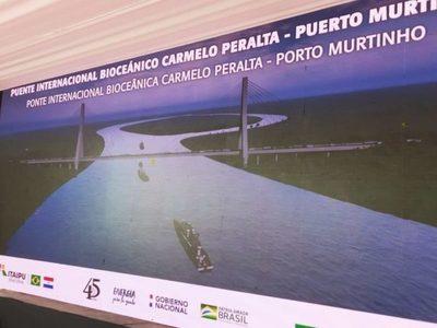 Se pone en marcha proceso para construcción del Puente Bioceánico