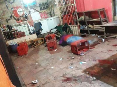 Una víctima fatal y seis heridos dejó un ataque en Itauguá