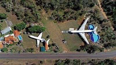 Aviones en el Patio