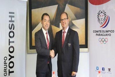 El COP y Toyotoshi S.A. con estratégica alianza