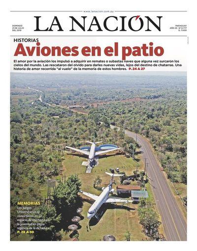 Edición impresa, 21 de julio de 2019