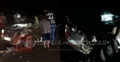 GRAVE ACCIDENTE EN SAN PEDRO DEL PARANÁ