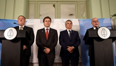 Argentina, Paraguay, Brasil y EE.UU. crearon mecanismo contra ilícitos y terrorismo