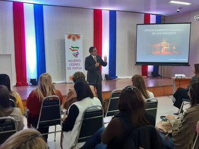 Encarnación: debatieron sobre financiamiento político de los partidos