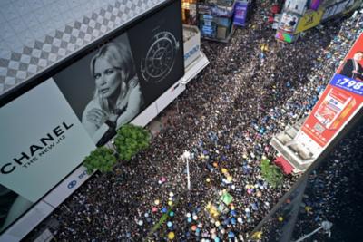 Séptimo domingo consecutivo de manifestaciones en Hong Kong