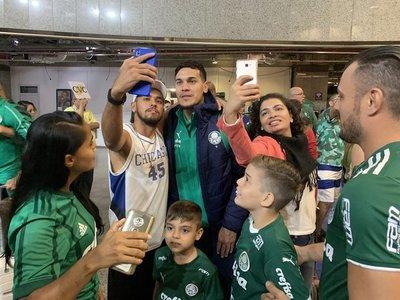 Palmeiras no logra aterrizar en Mendoza