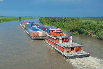 Buscan liderar acciones para facilitar la navegación en la Hidrovía