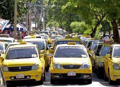 Taxistas irán a paro nacional y será por tiempo indefinido
