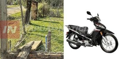 CNEL. BOGADO: VACIARON UNA DESPENSA Y SE LLEVARON UNA MOTOCICLETA