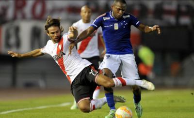 HOY / River y Cruzeiro abren una serie explosiva en Buenos Aires