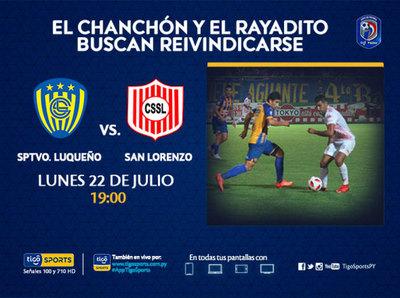 La segunda fecha se cierra con el duelo entre Luqueño y San Lorenzo