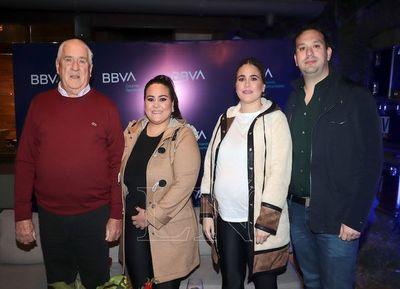Brindis del BBVA y Athena Foods