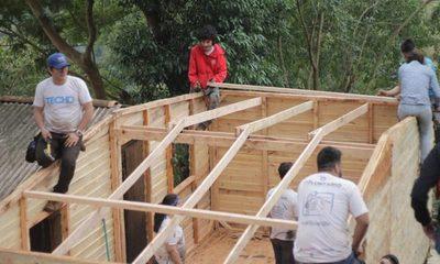 Techo construye diez viviendas en Ciudad del Este