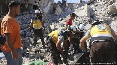 Rusia bombardeó un mercado en Siria: hay al menos 43 muertos y 100 heridos