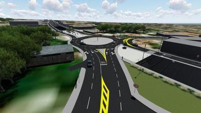 Anuncian construcción de paso a desnivel en Tres Bocas para descongestionar tráfico en Acceso Sur