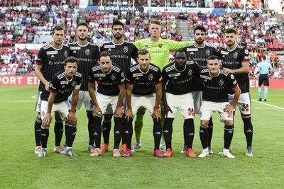 Alderete debutó en Champions con un gol