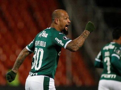 Palmeiras se recupera de un 2-0 y consigue un valioso empate