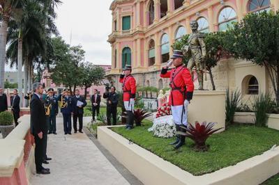 Conmemoran aniversario del Ejército Paraguayo
