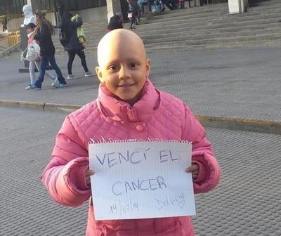 Una mini luchadora que venció la batalla del cáncer