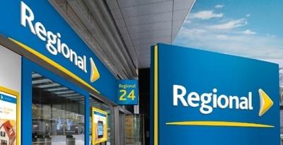 Banco Regional no alcanza utilidad ideal