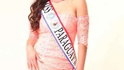 Miss Paraguay dijo ser maltratada por su ex