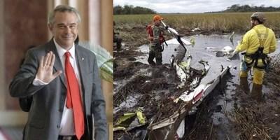 HOY SE CUMPLE 1 AÑO DEL ACCIDENTE AÉREO DONDE FALLECIÓ DR. LUIS GNEITING