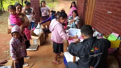 Asisten a comunidad indígena en Itakyry