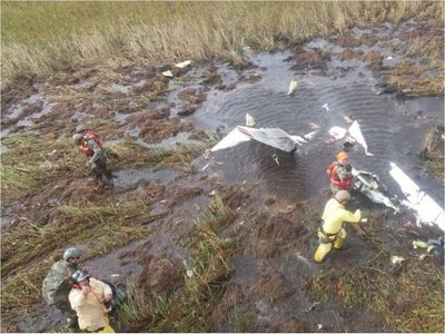 Revelan que avión de Gneiting se estrelló por inclemencia climática