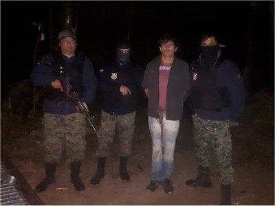 Capturan a sospechoso de homicidios en Yby Pytá