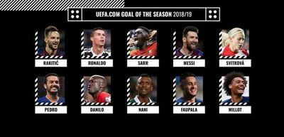 Messi y CR7, entre nominados al mejor gol