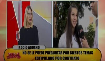 "La ""Miss Tanga"" enfrentó a los panelistas de ""TeleShow"""
