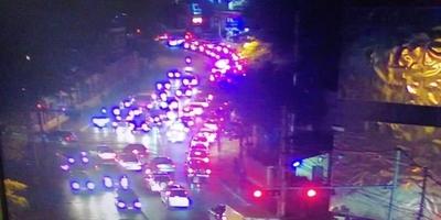 HOY / Temor a manifestaciones: la  policía acordona calles en  zona de Mburuvicha roga