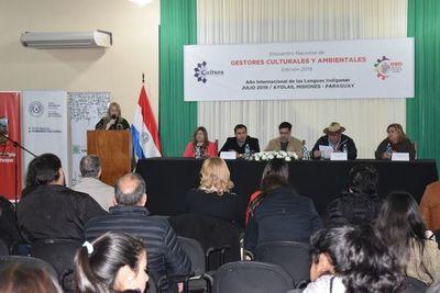 Realizan encuentro nacional de gestores culturales y ambientales