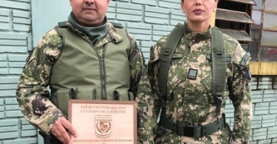 """""""Estoy cien por ciento preparada  para la guerra"""", he'i Paola Peralta"""