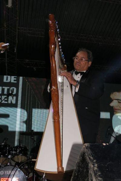 El arpista Rito Pedersen recibirá homenaje en vida en Salemma