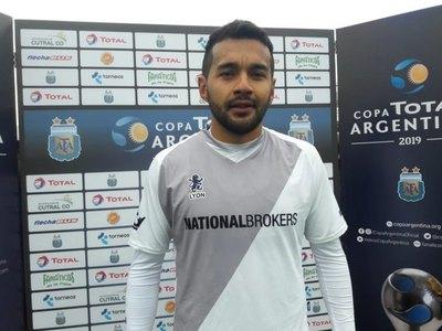 La historia del paraguayo Wilson Chimeli, figura en Copa Argentina