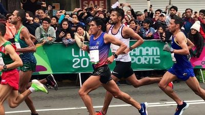 Gran actuación de paraguayo en Atletismo