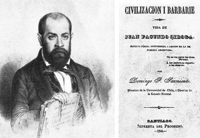 Sarmiento y la dicotomía civilización/barbarie