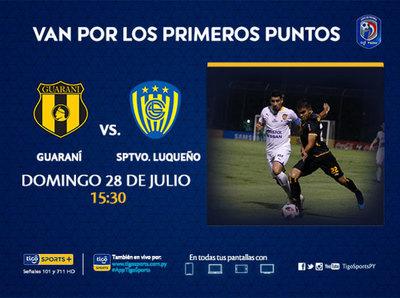Guaraní y Luqueño buscan la primera victoria