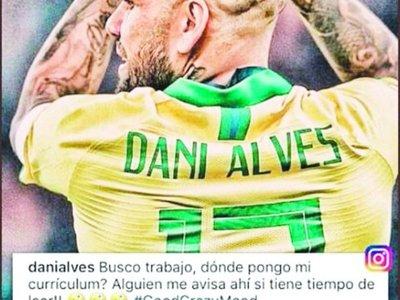 SANLO ofreció reunión laboral a Daniel Alves