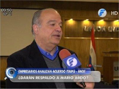 """Industria paraguaya cree que acta de Itaipú """"actualiza"""" compra de energía"""